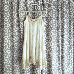 Anthropologie E by Eloise Cream Lace Dress